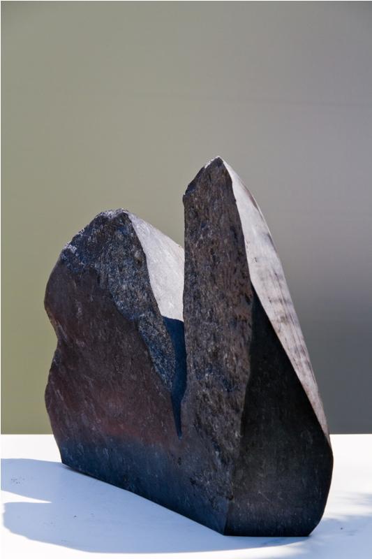 Steinskulptur: Gustav