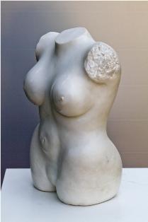 Steinskulptur: il torso